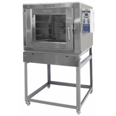FORNO TURBO GAS 150 INTERNO INOX - METVISA - FTG.150I